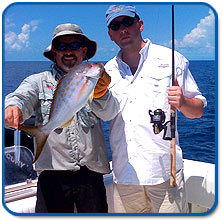 The Saltwater Angler fishing trip